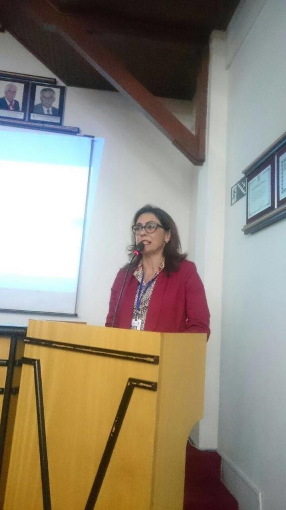Secretária de Saúde, Gissélle Ribeiro