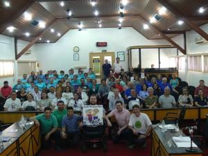 Plenário ficou lotado na abertura da Semana do Idoso