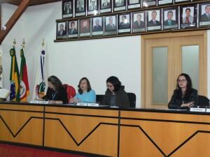 Servidores do Executivo e Legislativo fizeram a apresentação