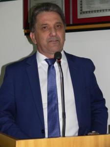 Pastor Dionísio divulgando o 9º Congresso Fronteira em Chamas
