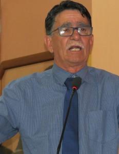 Vereador Assisense Vasco Carvalho falou em nome da bancada do PMDB