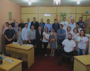 Vereadores, prefeitos e secretários municipais de Santiago e São Francisco de Assis