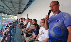 Presidente Renato Genro juntamente com demais autoridades abriu oficialmente a 30ª Copa Santiago