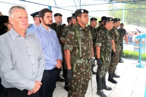 Vereador Décio Loureiro representou o Legislativo na passagem de comando