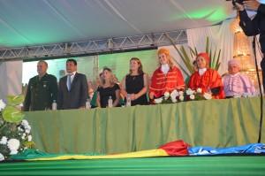 O Vereador Batista Manzoni esteve representando o Parlamento Municipal