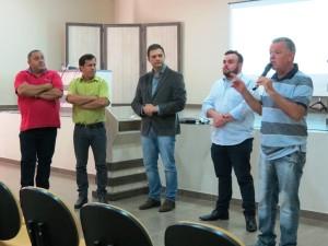 Presidente da Câmara de Santiago falou em nome das câmaras participantes