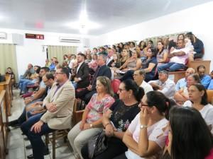 Cipoenses lotaram o Plenário da Câmara