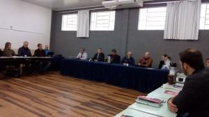 Conselho Universitário URI  e autoridades  em Frederico westphalen