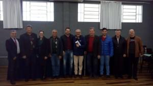 Vereador Tadeu Machado representa câmara de vereadores de Santiago em reunião do conselho Universitário da URI