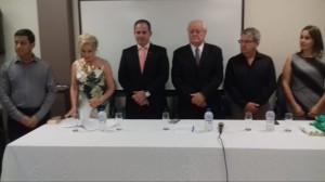 Vereador Joel Oliveira,Dra.Sonia Nicola, Huderson Mesquita,Irmo Sagrilo,DR. Ourique e Cintia Dornelles Pereira.