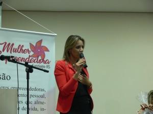 Chefe de Polícia do Estado-Delegada Nadine Anflor