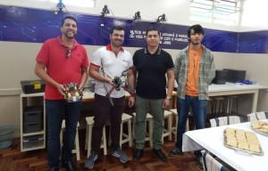Cristiano Carvalho,Luis Paulo Moraes e Marcio Lopes da Silva