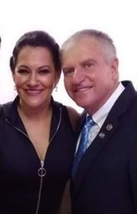 Casal Presidente Rotary gestão 2029/2020;Sr.Joel Jung Bonfim e sua esposa  Cristiane de Melo Bonfim