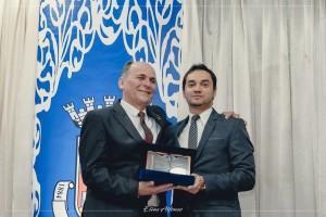Agraciado com o título de Cidadão Santiaguense pelo Vereador Marcelo Gorski