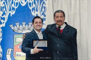 Agraciado com o Título de Cidadão Benemérito pelo Vereador Antônio Carlos dos Santos.