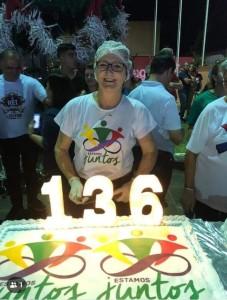 O Legislativo se fez presente através de sua Presidente  a Vereadora Cleusa Canterle, e demais Vereadores