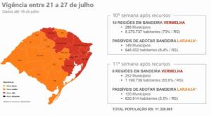 mapa laranja